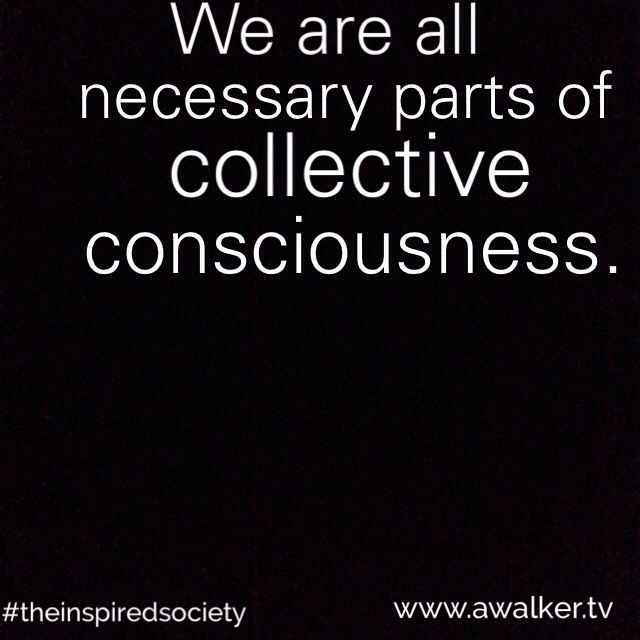 From the perspective of consciousness, all living things are equally powerful & necessary. We are all inter-connected & emanate from the same source.