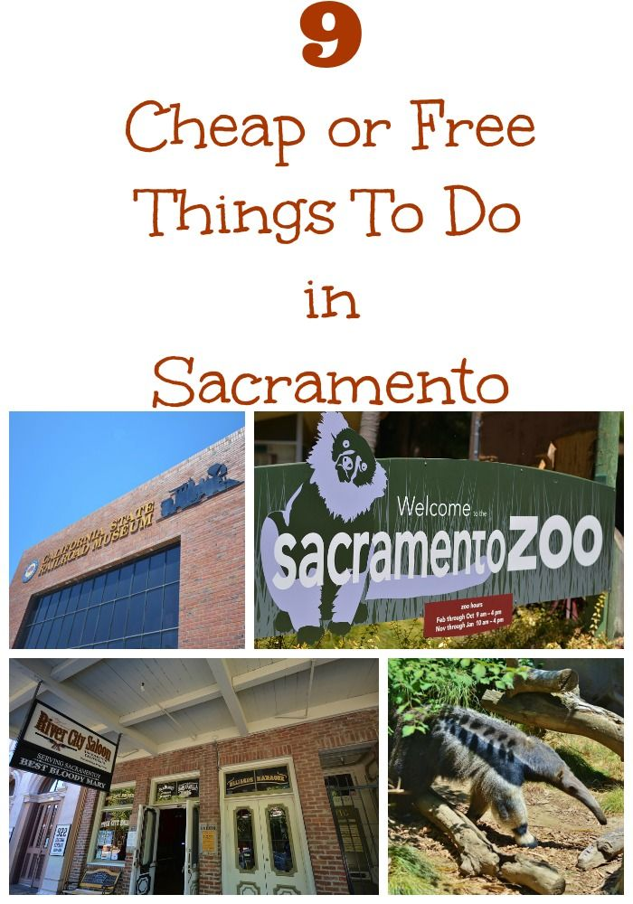 9 cheap or free things for families to do in @Sacramento. #travel #familytravel #70dayroadtrip