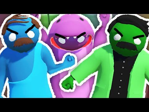 KILL EACH OTHER!! | Gang Beasts - YouTube