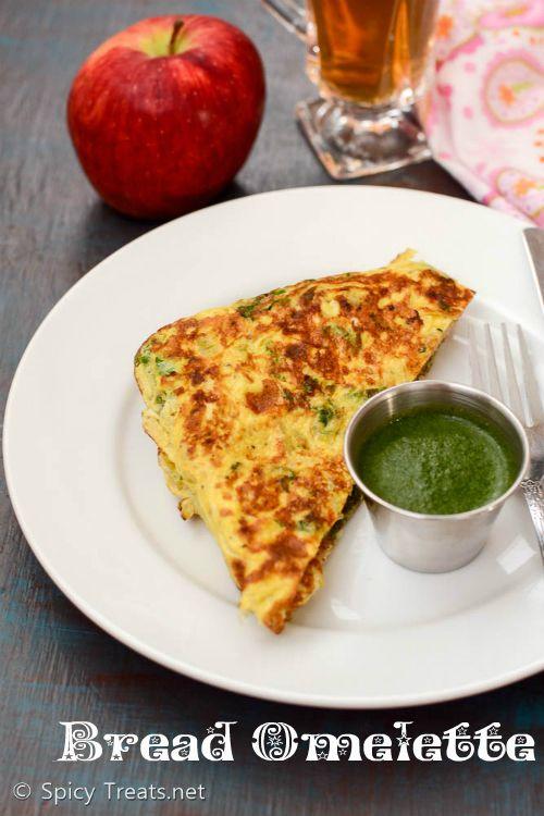 Spicy Treats: Bread Omelette Recipe   Omelette Sandwich Recipe   Easy Indian Breakfast Sandwich Recipe   Quick Sandwich With Omelette & Chaat Chutney