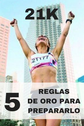 Mira las 5 reglas de oro a la hora de preparar un Medio Maratón.