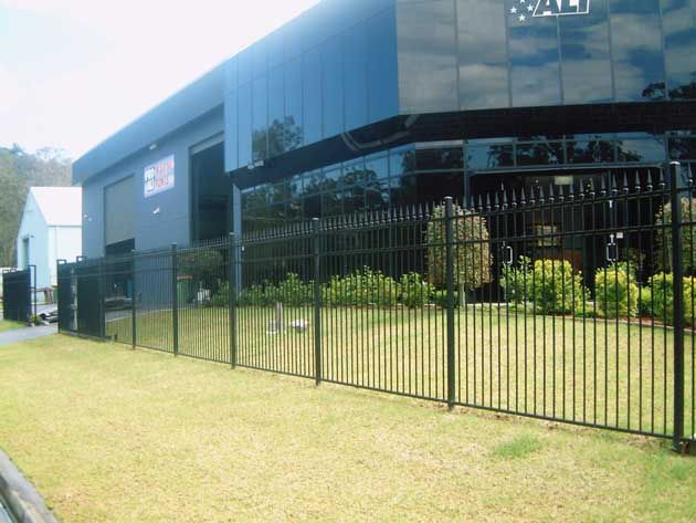 Security Fencing is a structure that encloses an area mainly outdoors. It comprises mostly of posts connected by boards, wire, rails or netting. Fences are different from walls as they donot have a solid foundation along their whole length. They are used extensively at commercial and residential properties.
