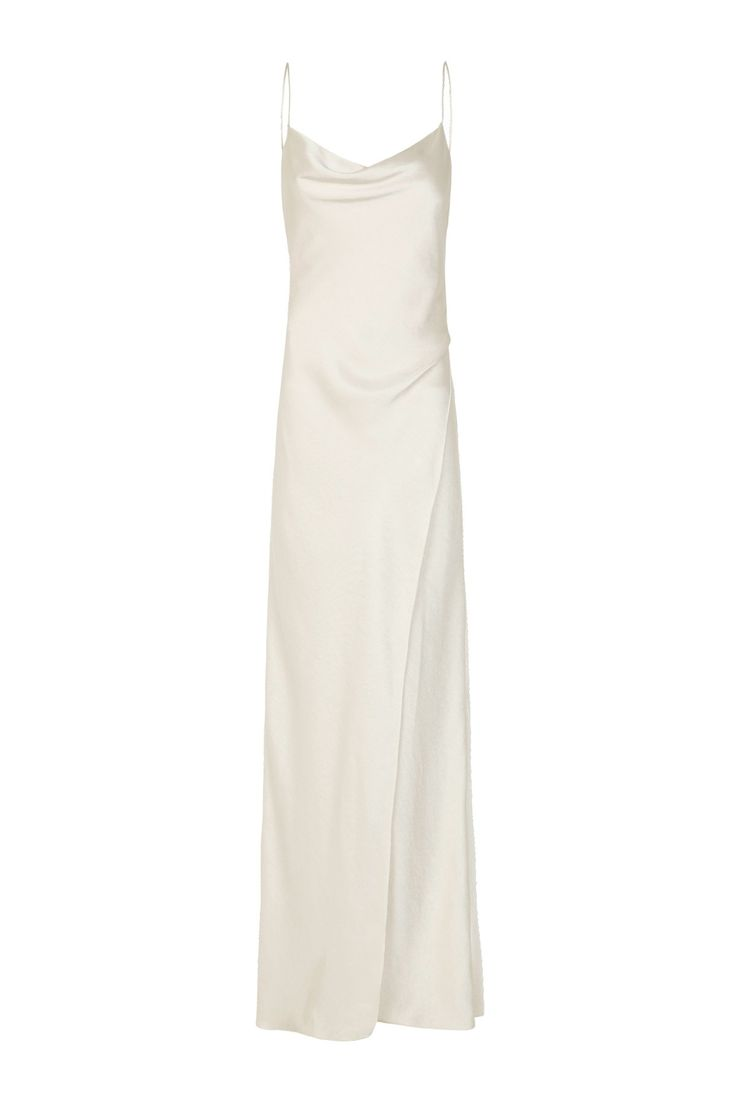 Simple silk wedding dresses   best Stephus wedding images on Pinterest  Slip wedding dress