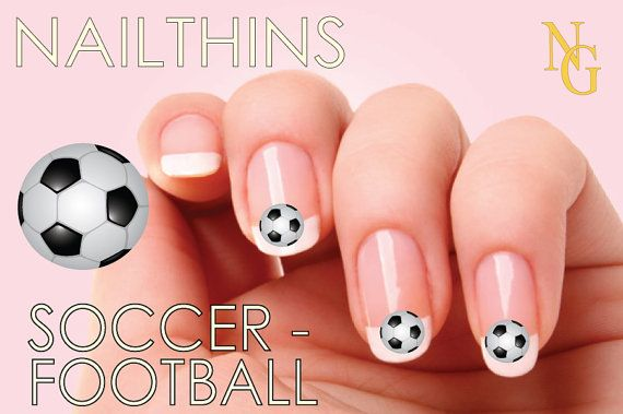 Hey, I found this really awesome Etsy listing at https://www.etsy.com/listing/121763267/soccer-nail-decal-nail-art-nail-design