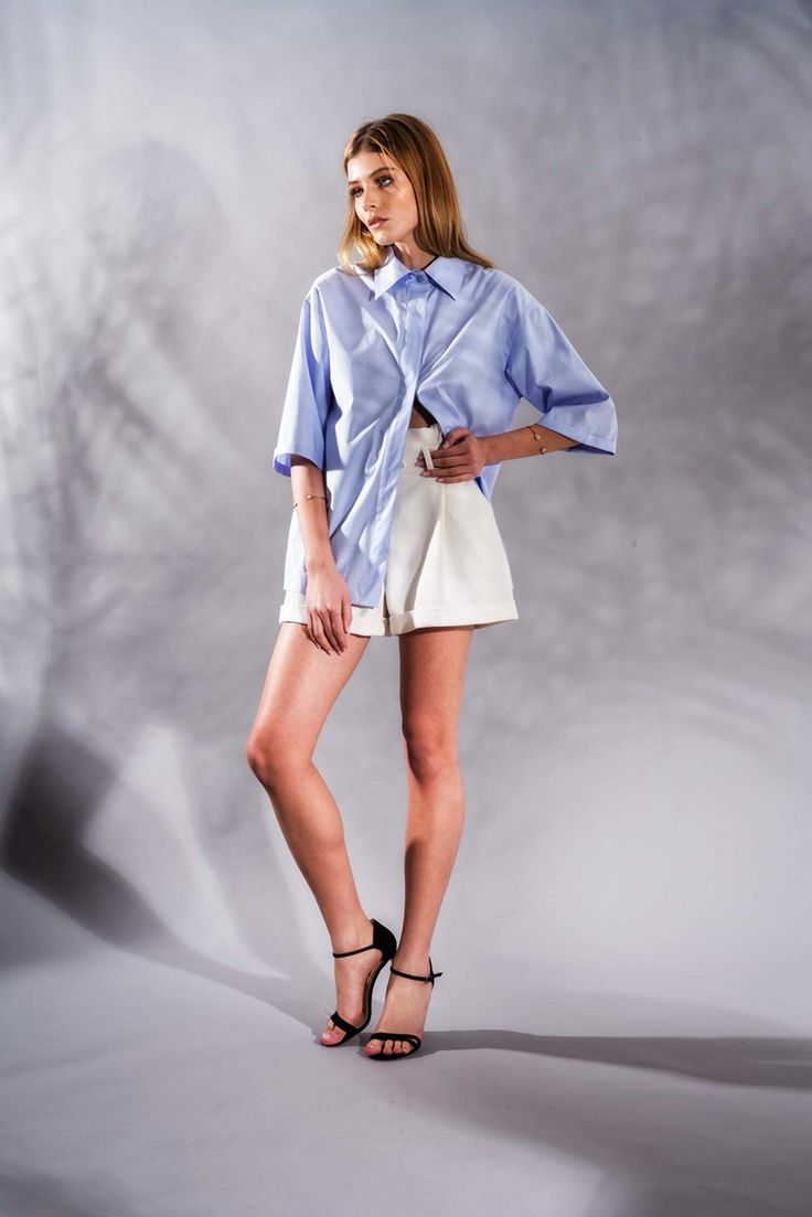 Serenity Bleu Shirt www.framboise.ro