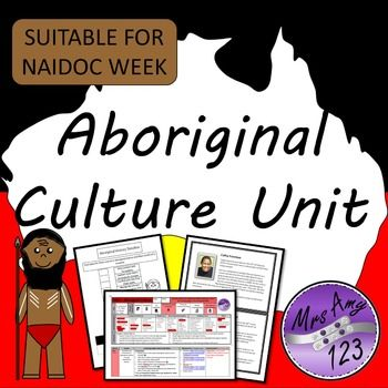 Featuring 2 planners for teaching Australian Aboriginal Culture to Year 3 (linked to ACARA History and Geography outcomes) and a general planner for use with other year levels for NAIDOC week activities or similar. All worksheets, resources and links have been included.