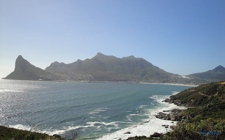 Hout Bay as seen from Chapman's Peak Drive - South Africa