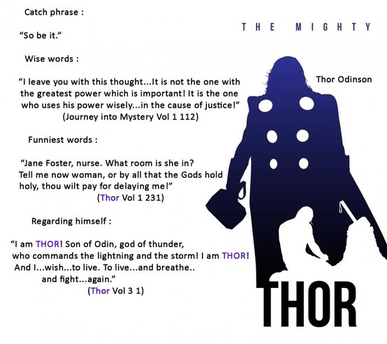 The Mighty Thor's quotes