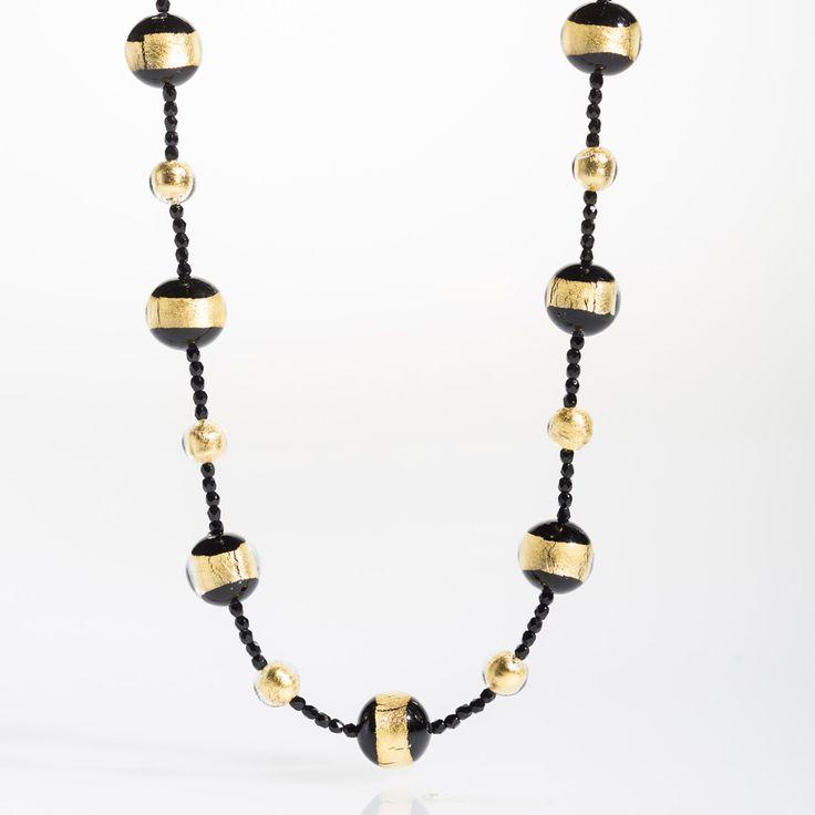 Laguna Necklace - Venetian Murano Glass Jewellery for Australia - www.italianheart.com.au
