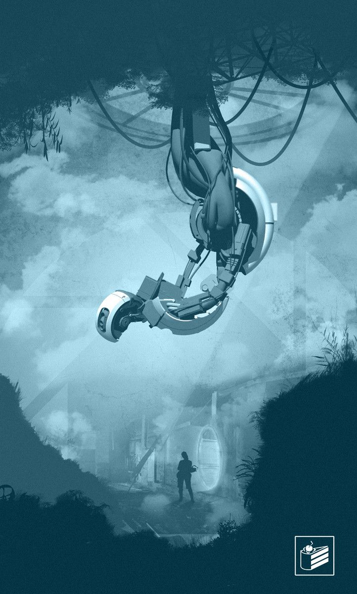 PORTAL 2 - The sequel to Portal.   Haven't really played it myself but I love Glados!