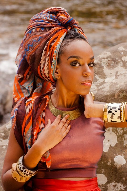African Head wraps: Lincon Justo's Wraps Inspiration Featuring Aline Andrade ~African fashion, Ankara, kitenge, African women dresses, African prints, Braids, Nigerian wedding, Ghanaian fashion, African wedding ~DKK