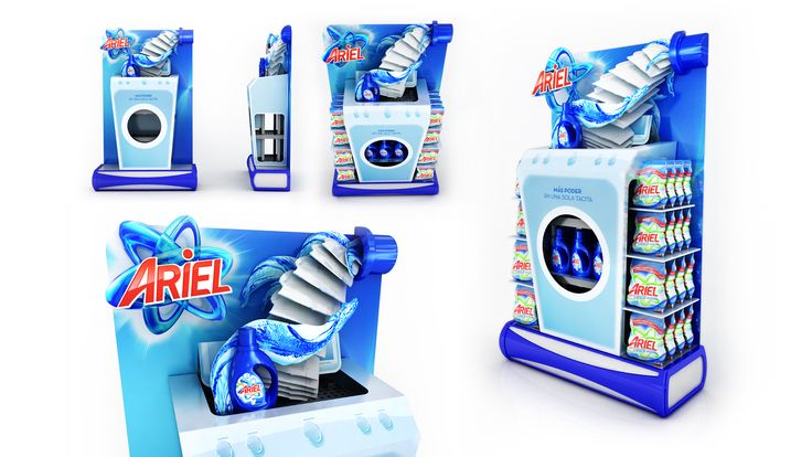 Procter & Gamble reached out to Creable to bring a fresh perspective on exploring the design potential and flexibility of DMAX, P&G's unique Instore structure system that allows for easy cu...