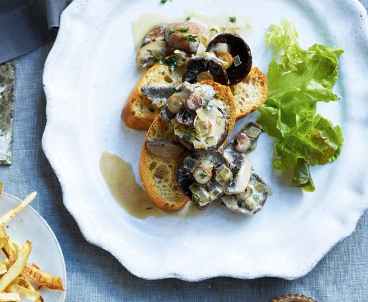 Asda Good Living | Mushroom Toasts