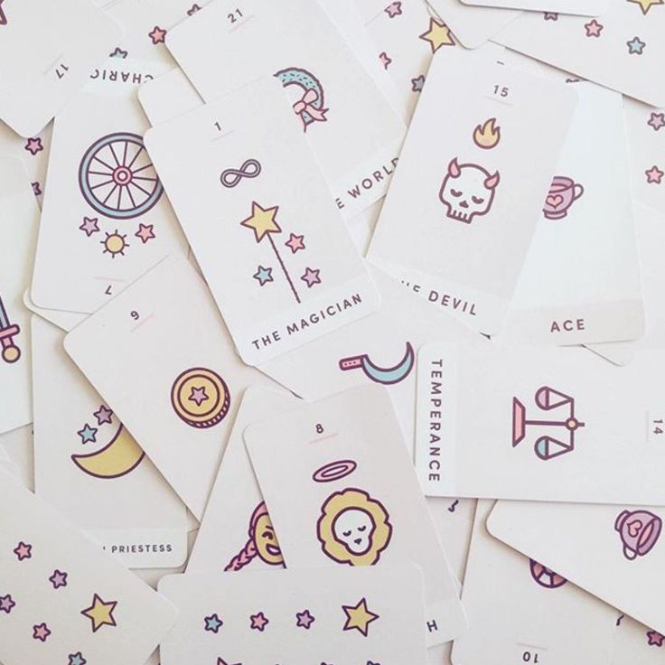 Sweet days are ahead. Get tarot readings with the cutest cards you've ever seen.