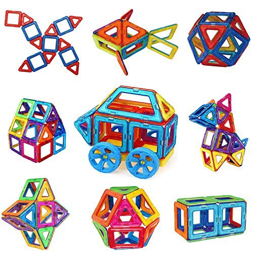 Magnetic Building Blocks, Sunwing 36PCS Magnets Toy Set for kids, Magnets Tiles Educational Toys for Boys and Girls. For price & product info go to: https://all4babies.co.business/magnetic-building-blocks-sunwing-36pcs-magnets-toy-set-for-kids-magnets-tiles-educational-toys-for-boys-and-girls/