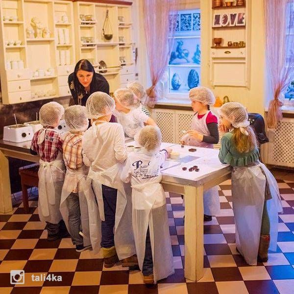 Laima Chocolate museum | Woact.com | Photo by @tali4ka