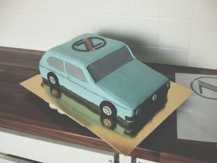 Это жизнь, детка: Volkswagen golf 1 cake