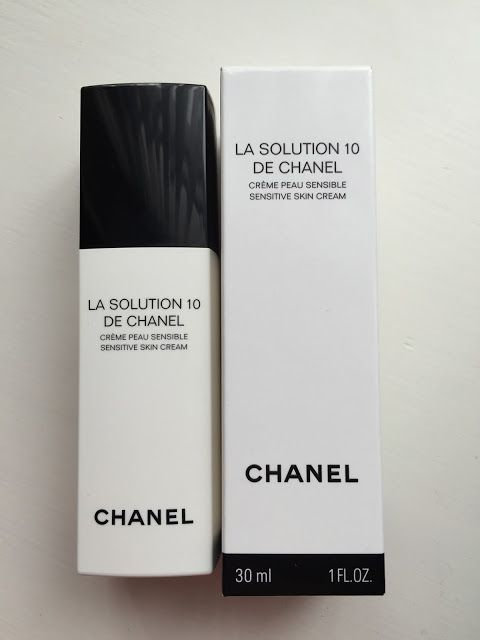 Chaenl - La Solution 10 De Chanel. Moisturizer for sensitive skin, in case of any stress/redness/post retinoid etc.