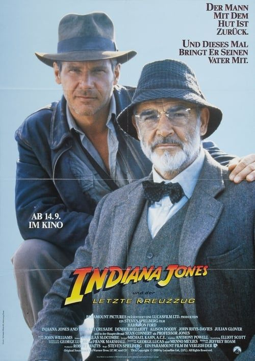 Indiana Jones And The Last Crusade Stream