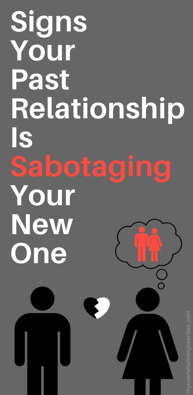 Signs of relationship sabotage