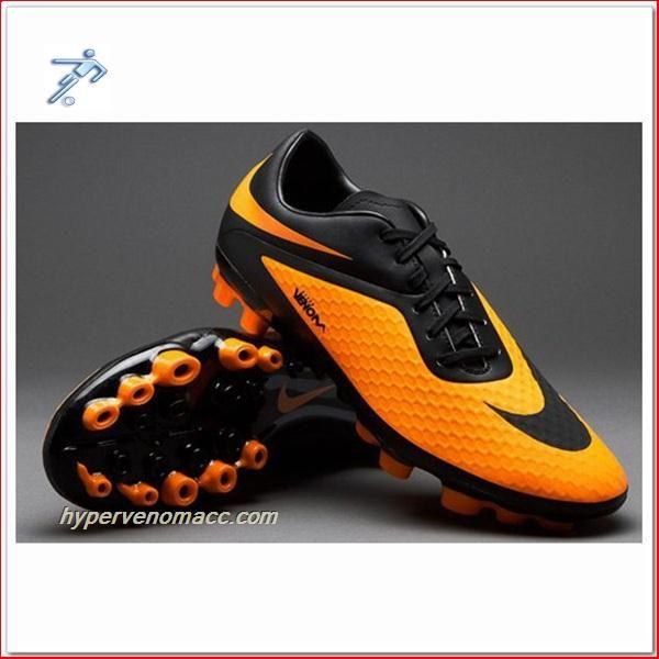 Penalty Futsal Shoes Review Nike HyperVenoms Phelon AG ACC Boots Black  Citrus
