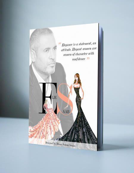 Elie Saab Magazine Cover Design