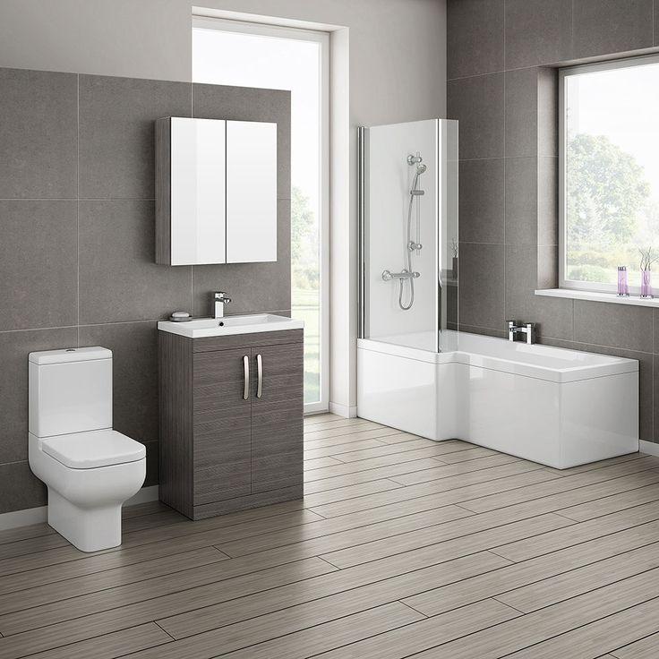 Black Gray Bathroom Ideas: 8 Best Bathrooms Images On Pinterest