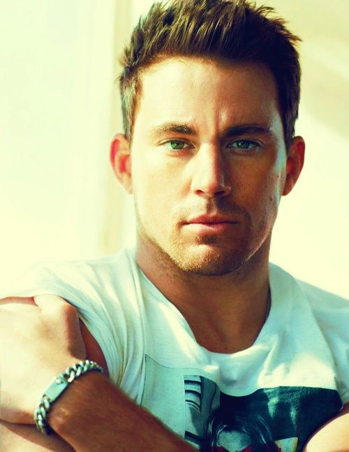 Channing Tatums beautiful lips, eyes.... everything just-because