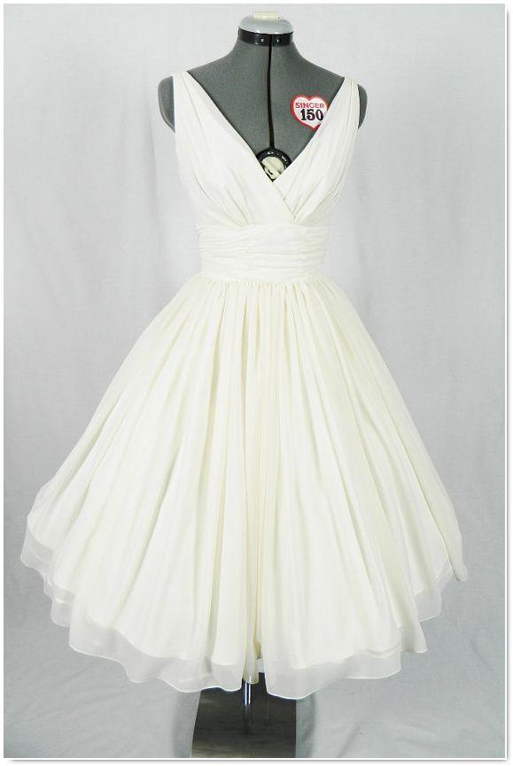 robe de mariée rétro vintage
