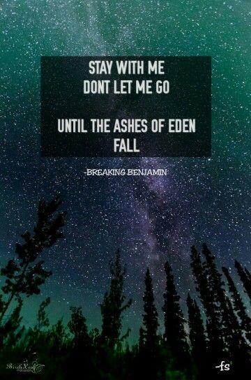 Breaking Benjamin - Ashes Of Eden