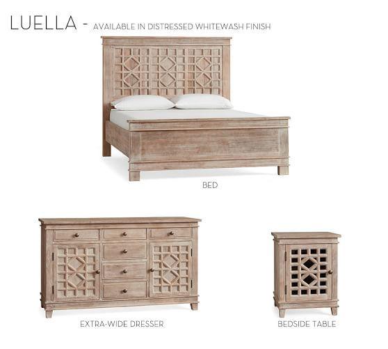 Luella Bed Bed Extra Wide Dresser Master Bedroom Redo