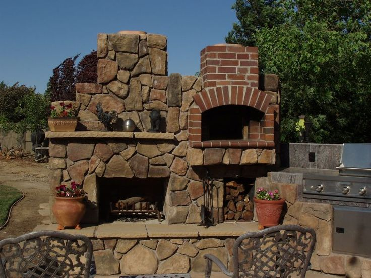 Backyard Pizza Oven, I really think I need one of these in my life! lol pizza party at my place :)