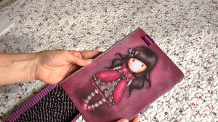 Gorjuss Ladybird mini iPad tartó