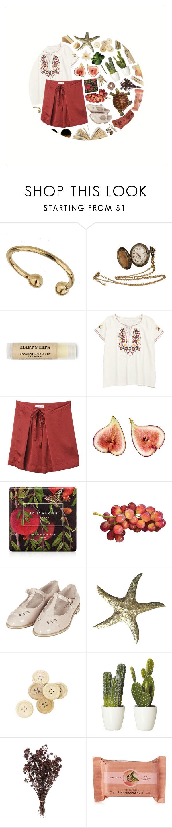 """obsessed"" by katykitty5397 ❤ liked on Polyvore featuring Miss Selfridge, Clips, Isabel Marant, Jo Malone, Topshop, Again, C.R.A.F.T., The Body Shop, red and GREEN"