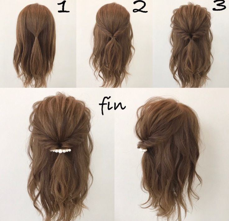 Sweet and easy hairstyle - #Hairstyle #lightweight