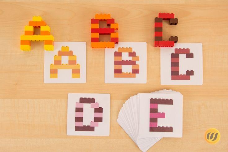 die besten 25 lego buchstaben ideen auf pinterest lego karte lego schrift und lego banner. Black Bedroom Furniture Sets. Home Design Ideas