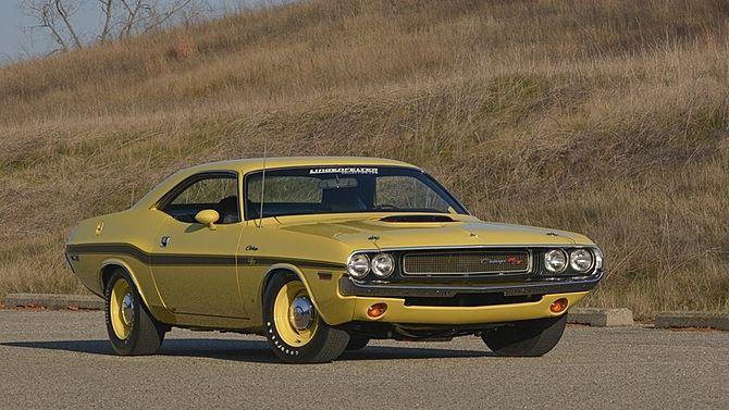 1970 Dodge Hemi Challenger R/T 426/425 HP, 4-Speed, Broadcast Sheet | Mecum Auctions