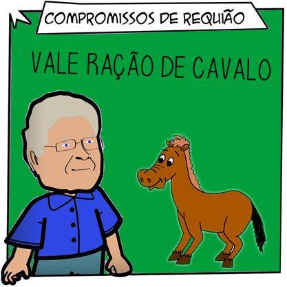 Compromissos de Requião: Vale Ração de Cavalo