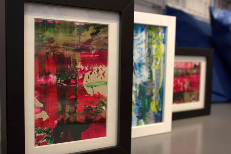 """Original paintings by Paula Rindborg - Collection """"Serie: Abstracts"""""""
