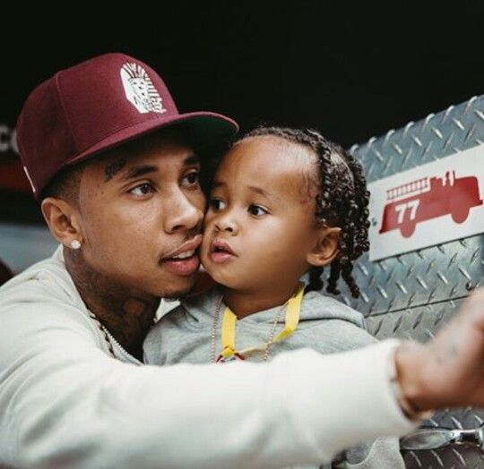Tyga & his son King