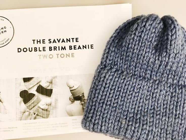 Double Brimmed Beanie