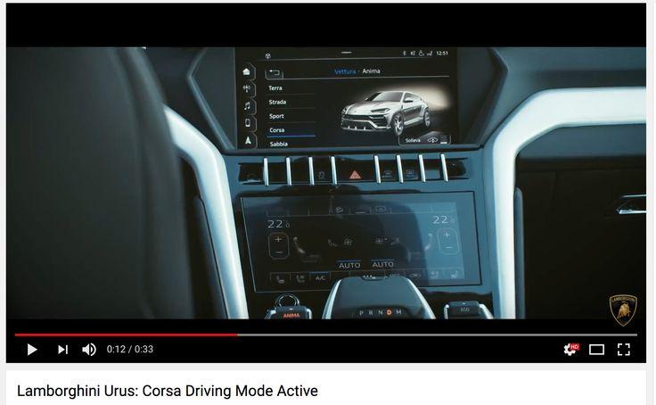 Video: Har Lamborghini afsløret designet på deres Urus ved en fejl? - http://bit.ly/2Bc2YZZ