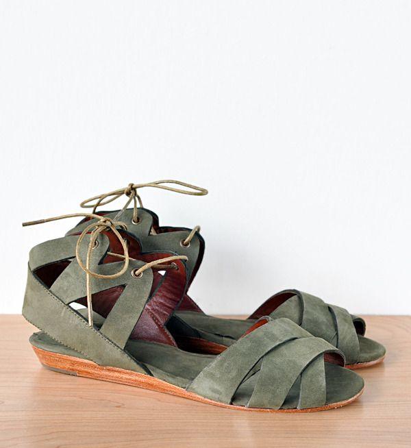 Image of Ariana Bohling Olive Riki Sandal