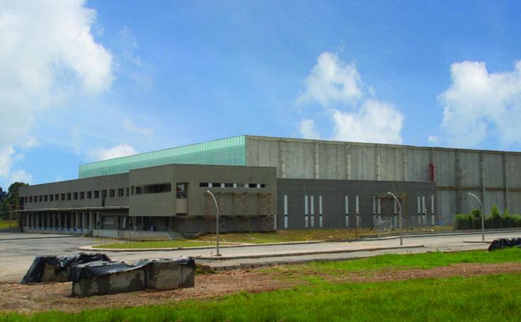 Prebel - Construcción del edificio de uso industrial. Año de construcción: 2008 Ciudad: Rionegro, Antioquia, Colombia. Cliente: Prebel S.A.
