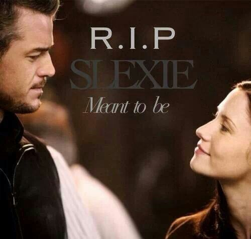 Noo Slexie! (Mark Sloan and Lexie Grey) MEANT TO BE.  #Grey's anatomy