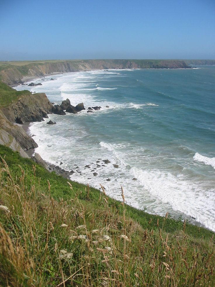 View from the Pembrokeshire Coast Path on Marloes peninsula