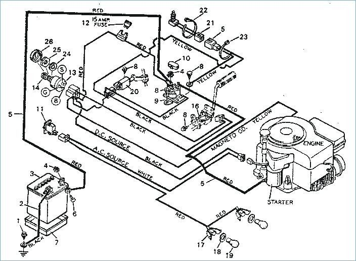 Craftsman Lawn Tractor Wiring Schematic Mower Diagram