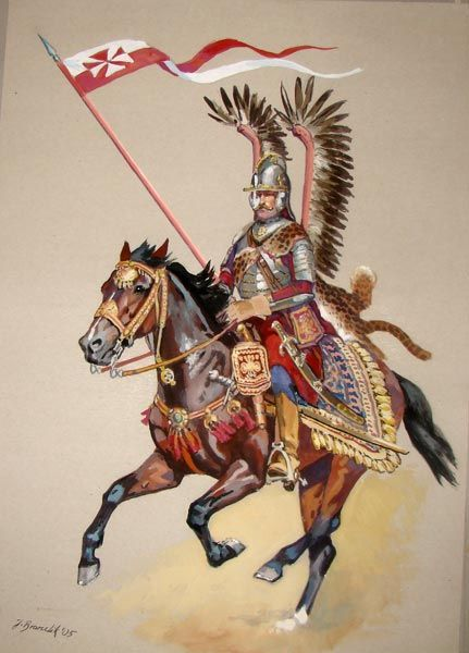 The winged Polish cavalry were instrumental in defeating the Ottoman Empire at the Battle of Vienna on Sept 11, 1683. This stopped the spread of Islam in Europe.