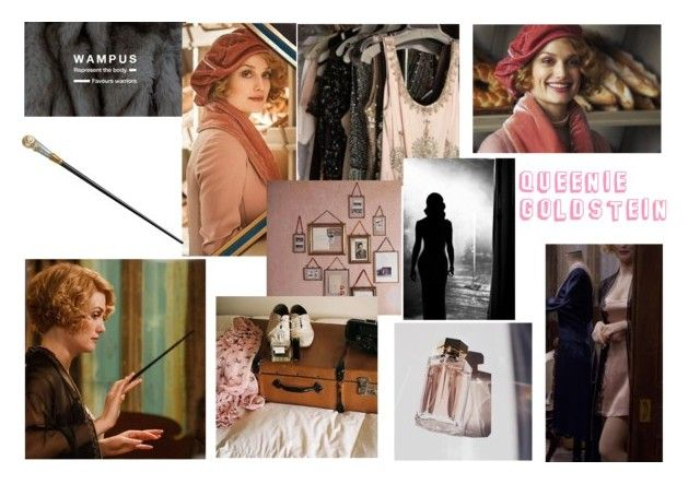 """""""queenie goldstein"""" by emily-dickson-1 ❤ liked on Polyvore featuring art and wampus"""