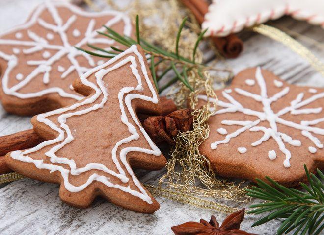 Печенье домашнее,Имбирное печенье рецепт на Новый год 2016